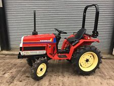 More details for very tidy modern yanmar 4x4 compact tractor suit smallholder (no extra vat)