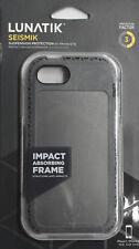 Lot Of 2 Lunatik Iphone 5/5S Shock Resistant Cases Seismik Gray Clear