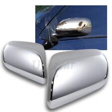 For 2007-2011 Toyota Yaris 4-DR/Sedan Chrome ABS Plastic Side Mirror Cover Cap