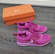 ☆ Euc Women's Girls fuscia glow Nike air max thea trainers size 5 EU 38.5 ☆