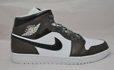 Nike Air Jordan 1 Mid - Trainers/Sneakers Brown/Black/White - Men's UK13 - BNIB