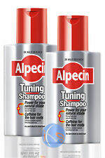 2 x ALPECIN TUNING Shampooing 200ml. Consolide NATUREL COLORATION CHEVEUX