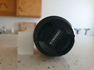 YONGNUO YN100mm 100mm F2 Lens for Canon 80D T6I T6 70D 5D 6D T7I