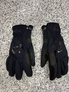 ASSOS Men's Cycling Fugu Gloves S7 in Black, Size Medium