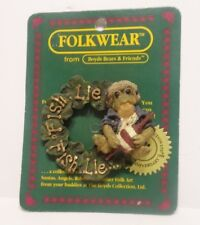 Boyds Bears FolkWear Frogmorton Fish, Lie, Fish Lie Pin #26415 Fishing Lure