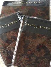 Ralph LAUREN ANMER HALL WALCOTT PAISLEY SATIN Duvet Cover Set DOUBLE
