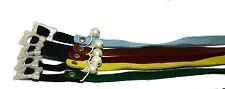 10 x Karlie Katzenhalsband Velourleder versch. Farben ca. 300/10mm mit Gummizug
