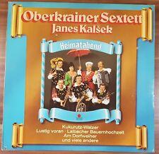 "12"" LP Vinyl Oberkrainer Sextett Janes Kalsek Heimatabend ariola 202572241"