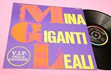 MINA I GIGANTI LEALI LP ORIGINALE 1967 EX+ !! COPERTINA LAMINATA TOOOPPPPP