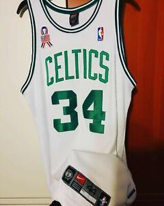 Paul Pierce 2001-02 Boston Celtics Home Authentic Jersey Size 44