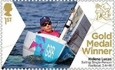 GB ParalympicsGB Gold Medal Winner Single Stamp - Helena Lucas MNH 2012