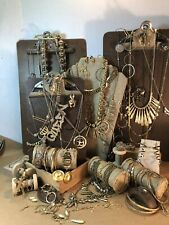 #607 Gold Vintage to now estate find Jewelry lot wear untested 50+ mixed items