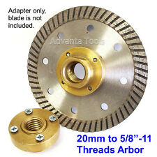 Flush Cut (Mount) Adapter for Blade with 20mm / 4 Hole Arbor