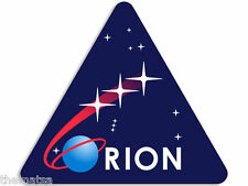 """4"""" ORION SPACE ASTRONOMY NASA MISSION HELMET BUMPER STICKER DECAL MADE IN USA"""