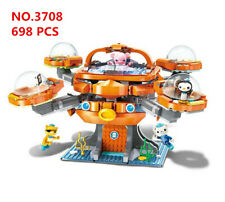 Enlighten 3708 Kids Building Toys Blocks Boys Octonauts Puzzle 698Pcs (no box)