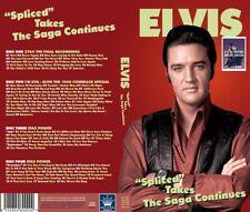 Elvis Collectors 4 CD Boxset Spliced Takes - The Saga Continues