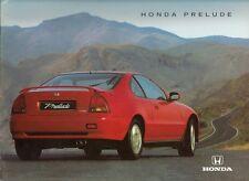 Honda Prelude 1994-95 UK Market Sales Brochure 2.0i 2.3i 2.2i VTEC