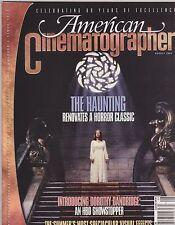 AUG 1999 AMERICAN CINEMATOGRAPHER vintage movie magazine THE HAUNTING