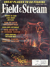 4/1967 Field and Stream Magazine