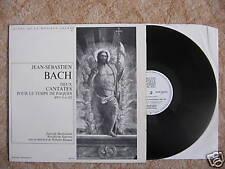 LP J.S. BACH - DEUX CANTATES BWV 4 & 182 - BACHSOLISTEN / excellent état