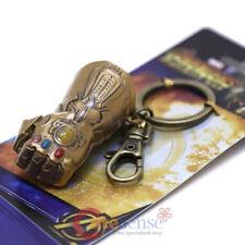 Marvel Avengers Infinity Gauntlet Glove Key Chain 3D Colored Metal Key Holder