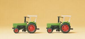 Preiser 79506 les Tracteurs Agricoles Deutz D 6206, 2 Pièces, N