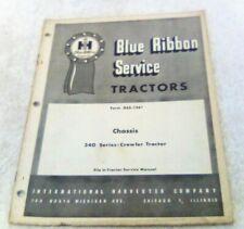 1961 International 340 Crawler Tractor Service Repair Manual