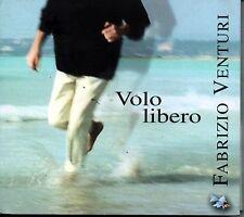 VENTURI FABRIZIO VOLO LIBERO CD IN DIGIPACK GATEFOLD + TESTI DEI BRANI