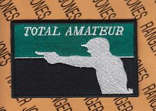 MLB style design TOTAL AMATEUR Shooting Morale 3.75 inch patch B