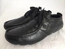 TSUBO Beale Black Leather Lace Up Chukka Oxfords Shoes Men's Size 8