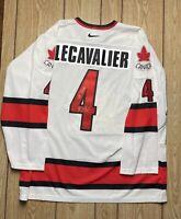 Vincent Lecaviler Team Canada 2004 Autographed Jersey