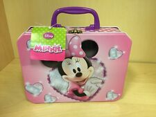 Minnie Mouse Lunch Box Color Multiple Pink White Polka Dots