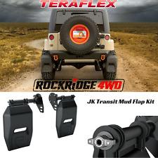 Teraflex Jeep Wrangler JK Transit Mud Flap Kit 07-17 4808500 4x4 Offroad JKU
