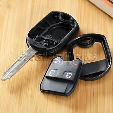 Replacement 4 Button Remote Key Shell Case Fob Repair for 2011-2014 FORD Mustang
