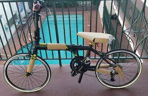 New Carbon Fiber Allen Sports Ultra 1 Folding Bike 20 speed