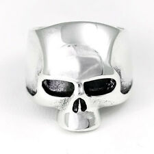 SKULL RING STERLING SILVER 925 KEITH RICHARDS STYLE