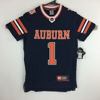 Auburn Tigers Youth Football Jersey Number 1 Color Navy By Colosseum - New NWT