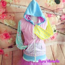 "3XL Ruru Victoria Harajuku Fairy Kei ""Decora Ruru"" Hoodie Cute!"