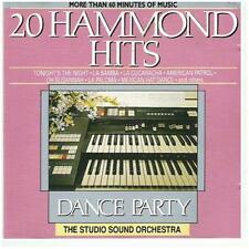 "THE STUDIO SOUND ORCHESTRA: ""20 Hammond Hits"" - DANCE PARTY-CD!"