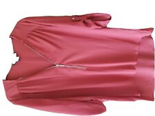 Ladies top size 14 Rust colour. €8 incl postage