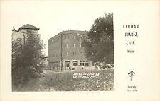 1934 RPPC Postcard; Hotel DeLuxe, 68. Ciudad Juarez, Chihuahua Mexico MF Photo