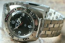 Russian Mechanical Automatic Wrist Watch VOSTOK AMPHIBIAN DIVER 710634