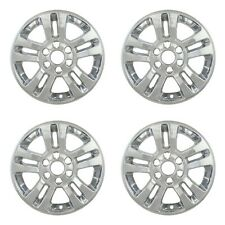 "Wheel Skin Covers Fits 2014-2018 Chevrolet Silverado 1500 18"" Chrome Set Of 4"