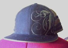 JEDIDIAH~Men Hat~Cap~OSFM~black/olive~flat brim~Mesh Crown~100% cotton~snapback