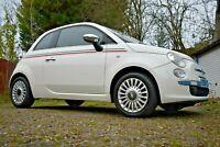 Fiat 500 Lounge 2009, white, 1.2