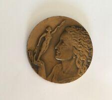 Médaille Mayet 1981 Signée Contaux