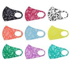 Bandana Paisley Pattern Reusable Face Cover Washable Protection Handmade Mask