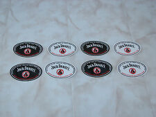 8 pc Jack Daniel's sticker fr car advertising offroad friends new rare Mr. Jack