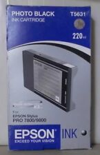 Original Epson T5631 Tinte  Photo Black    für Stylus Pro  7800  9800 OVP