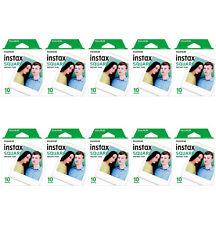 10 Packs 100 Instant Photos FujiFilm Instax SQUARE Film Polaroid Camera For SQ20
